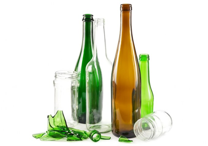 glass rubbish removal