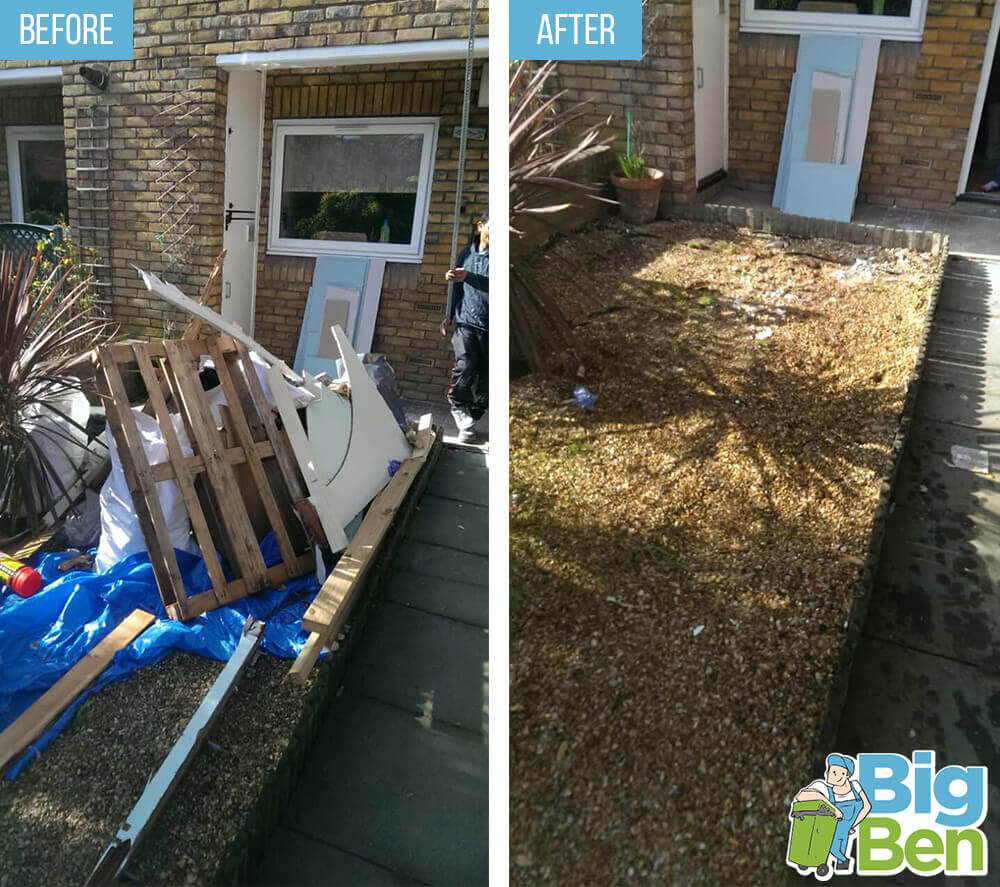 removal of garden waste TN1