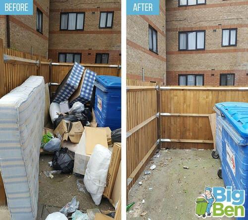 household rubbish removal E16