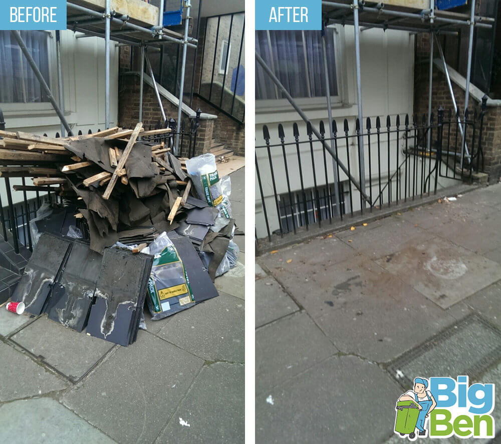 household rubbish removal EC1