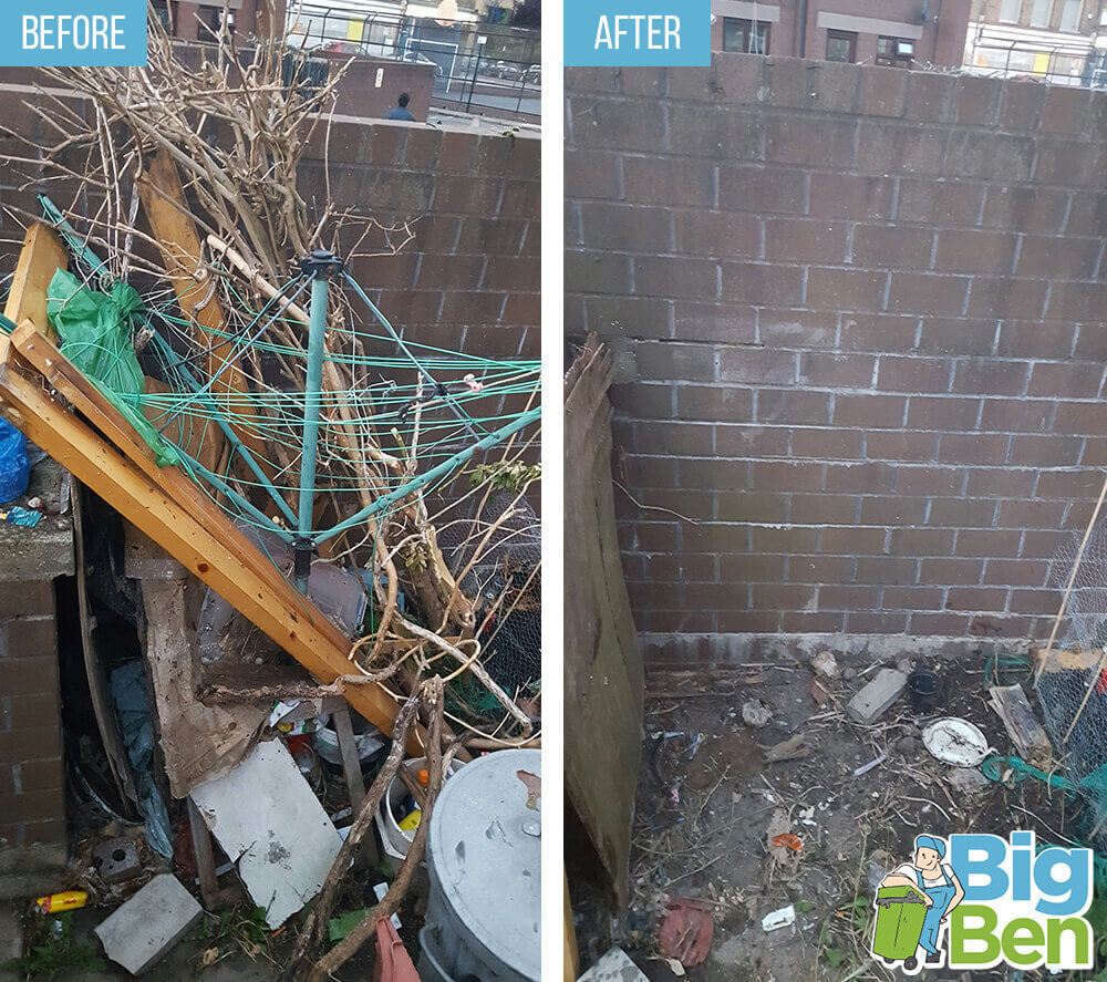 removal of garden waste KT3