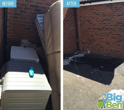 hard rubbish removal Northumberland Heath