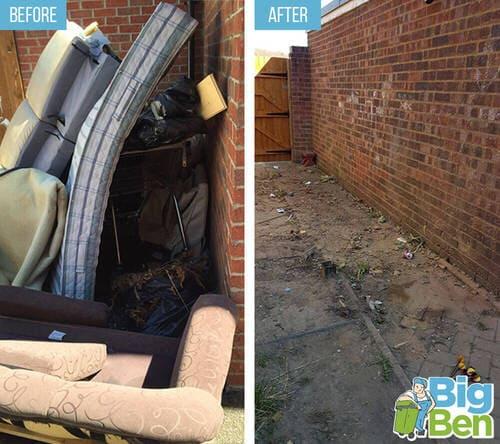 removal of garden waste E7