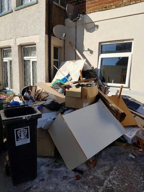 domestic rubbish pick up Barnes