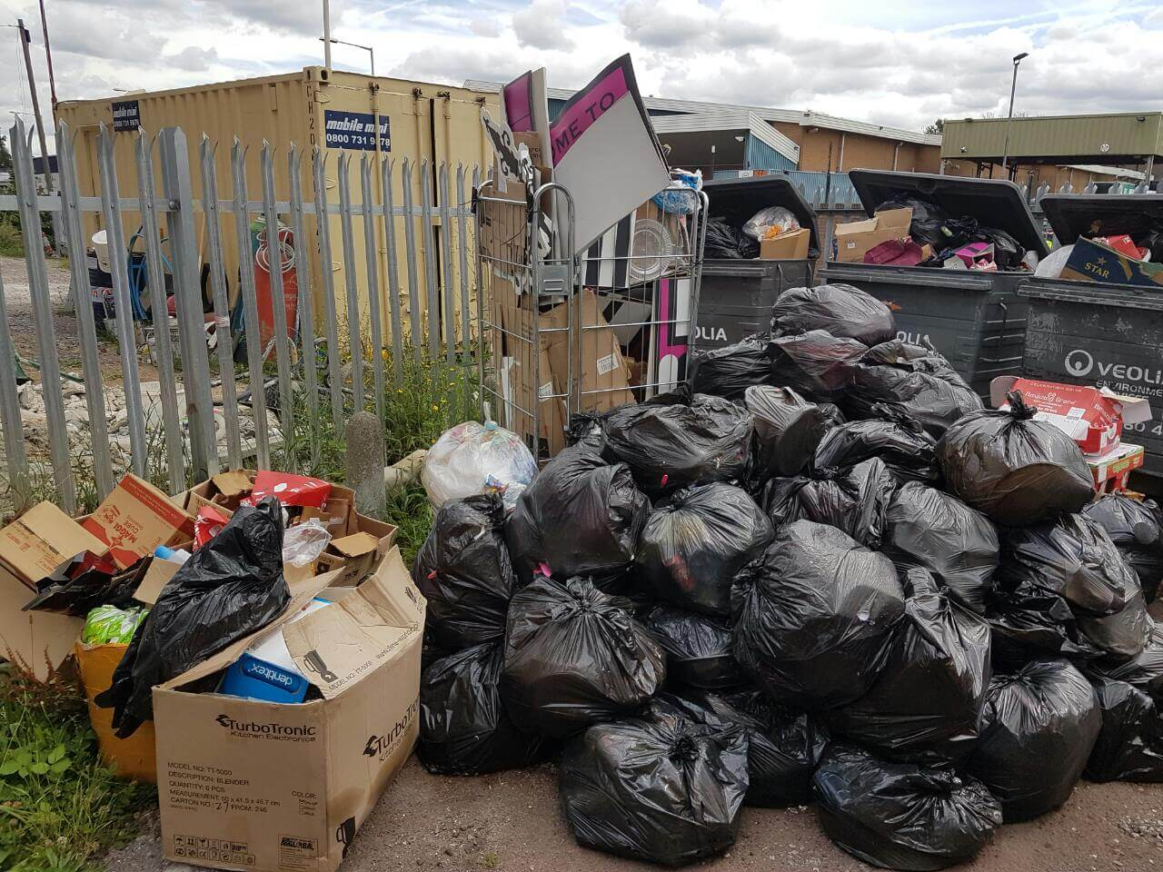 garden waste recycling BR3