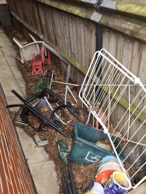 domestic rubbish pick up Bedford Park