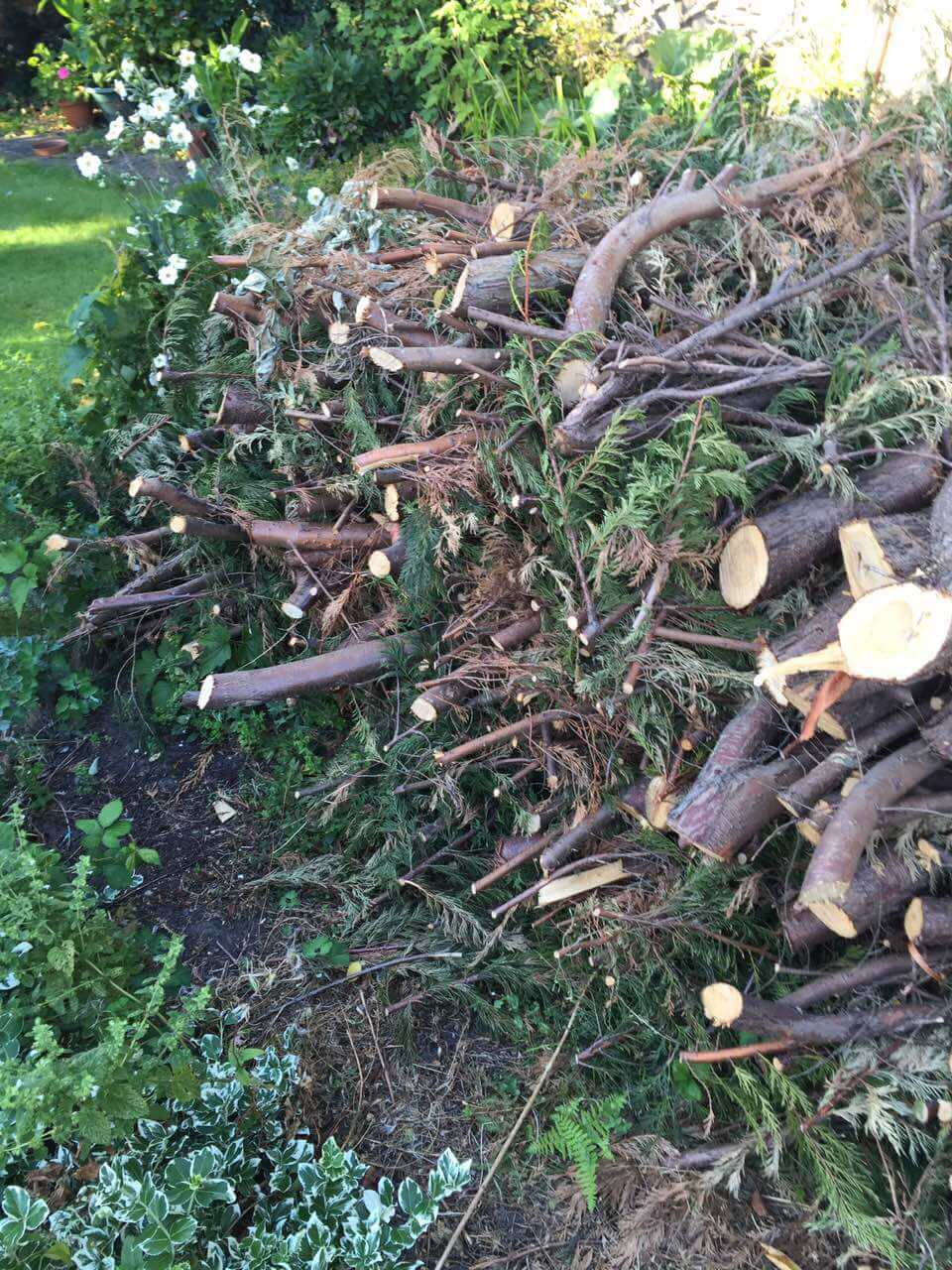 garden waste recycling SW1