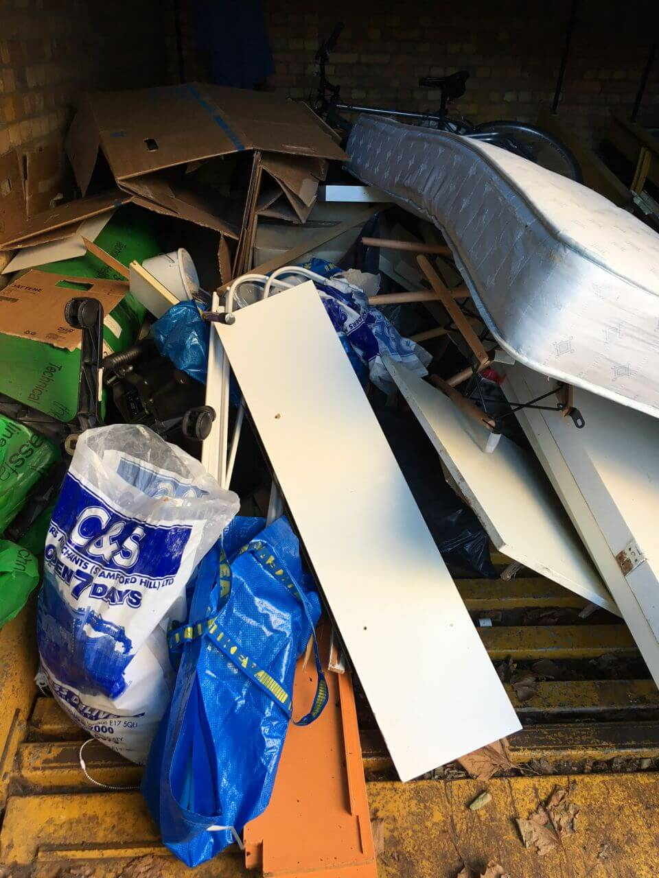 bulky waste collection SW3