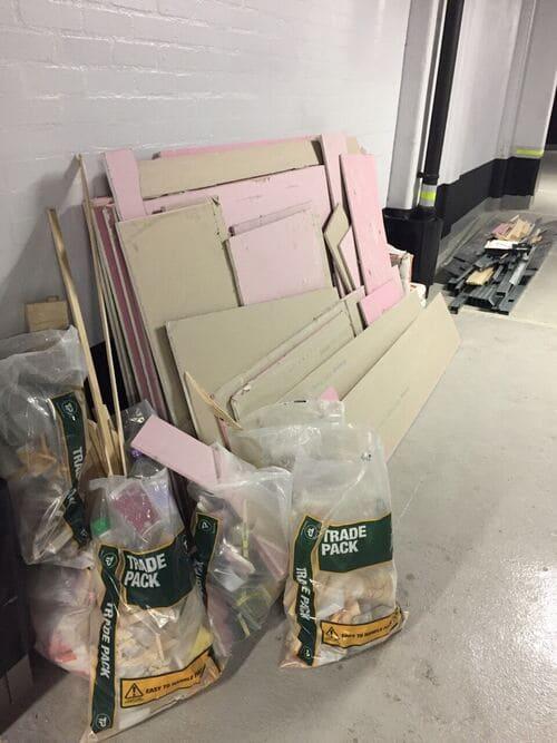 domestic rubbish pick up Chelsfield