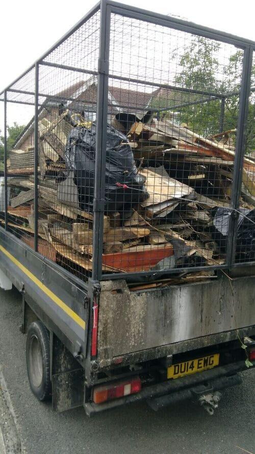 domestic rubbish pick up Clapton