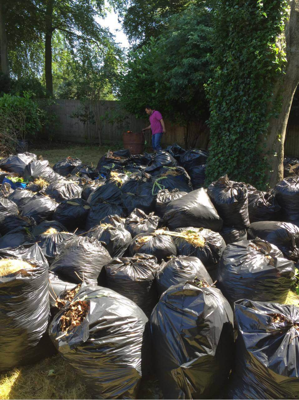 garden waste recycling KT11