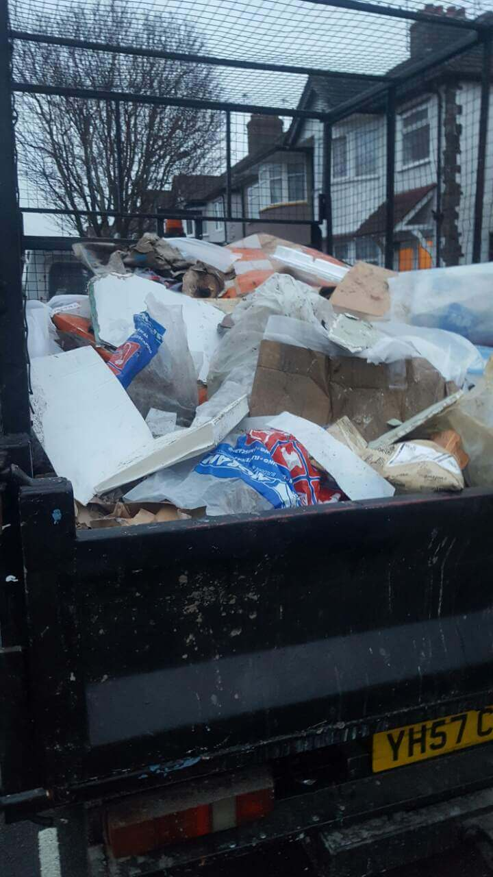 domestic rubbish pick up Fulwell