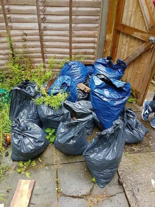 HA3 garden clearing Kenton