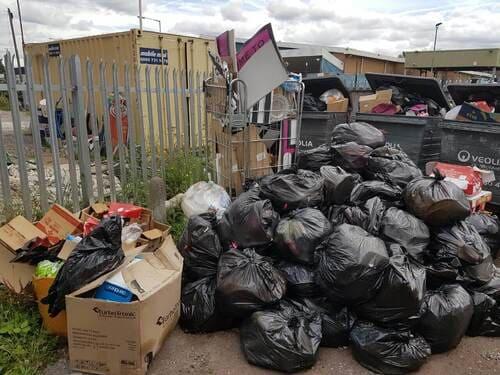 rubbish skips hire KT1