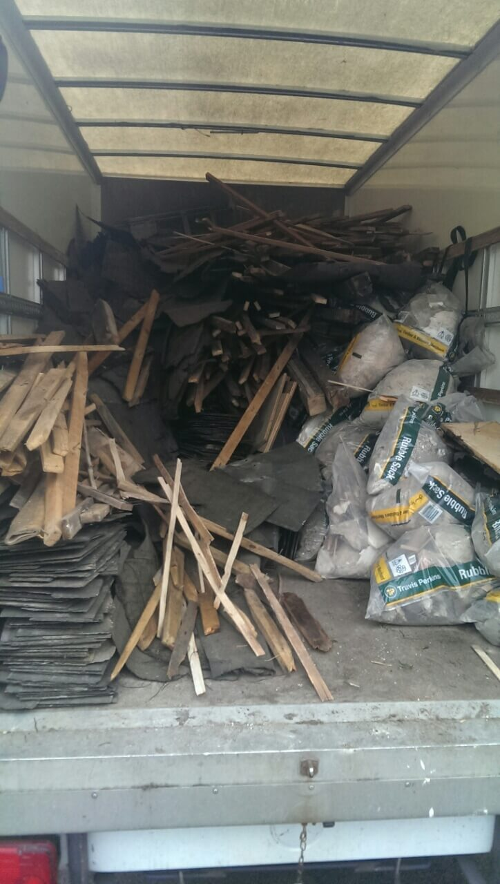 domestic rubbish pick up Nine Elms