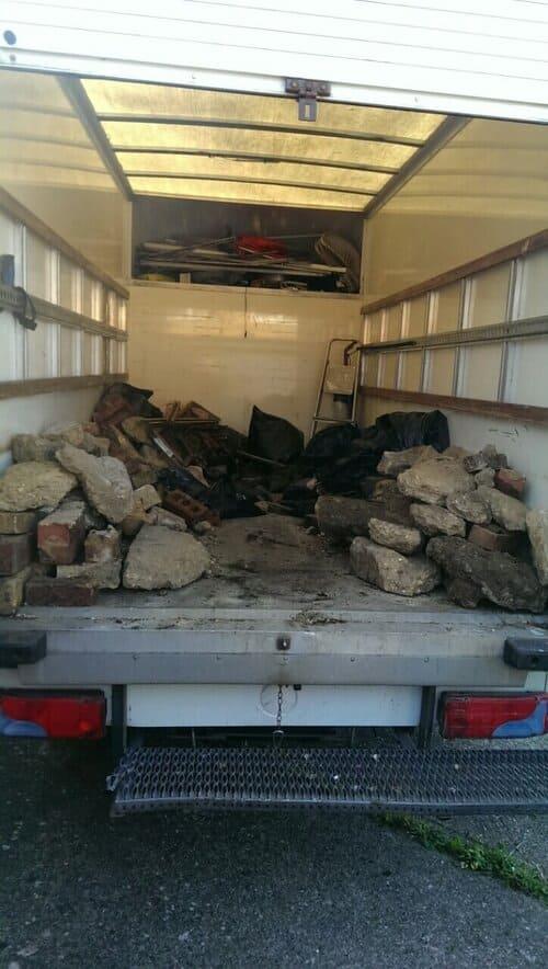 domestic rubbish pick up Nunhead