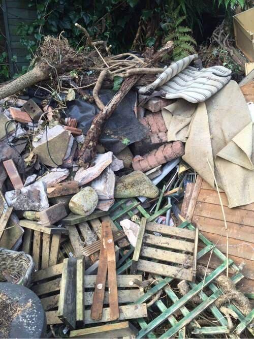 domestic rubbish pick up Queen's Park