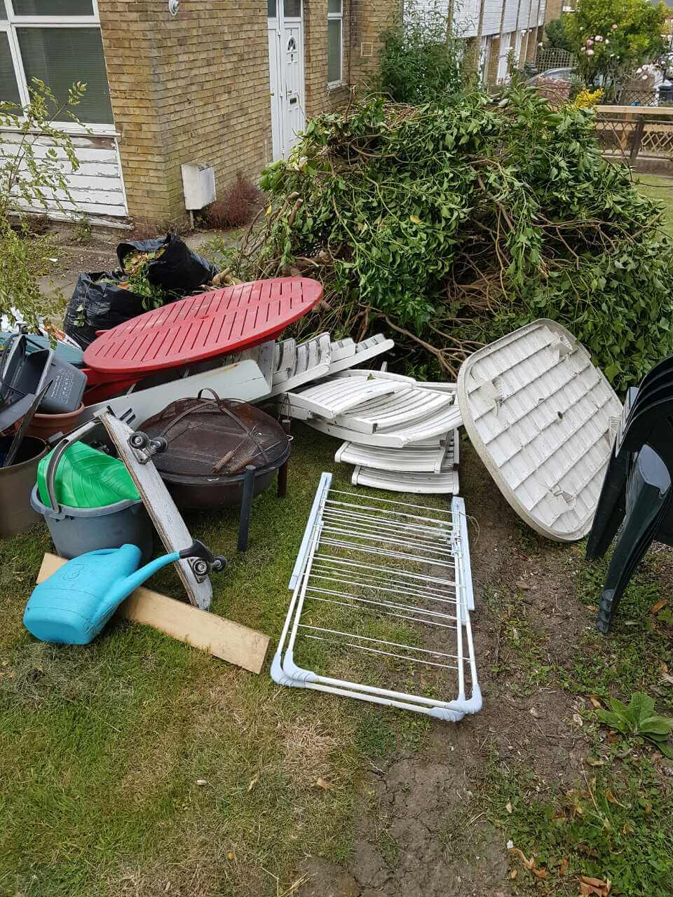Chalk Farm rubbish clearance NW1
