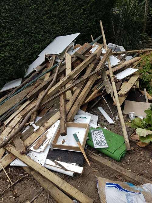 rubbish removal service N9