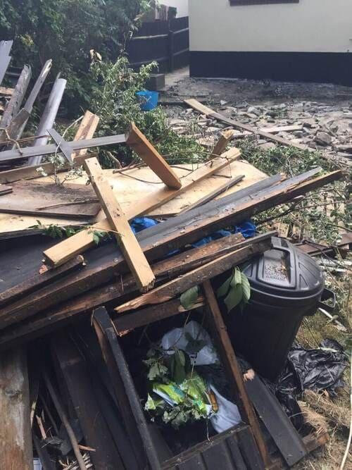 Hampstead Gdn Suburb rubbish clearance N2