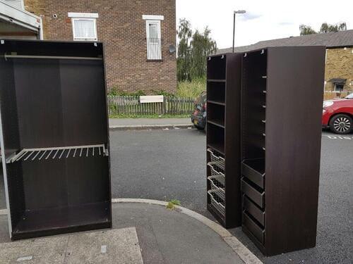 rubbish removal service W14