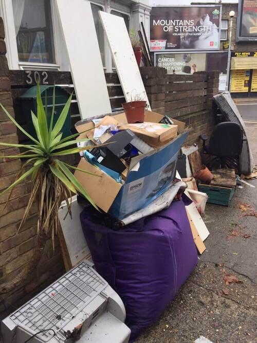 rubbish removal service W5