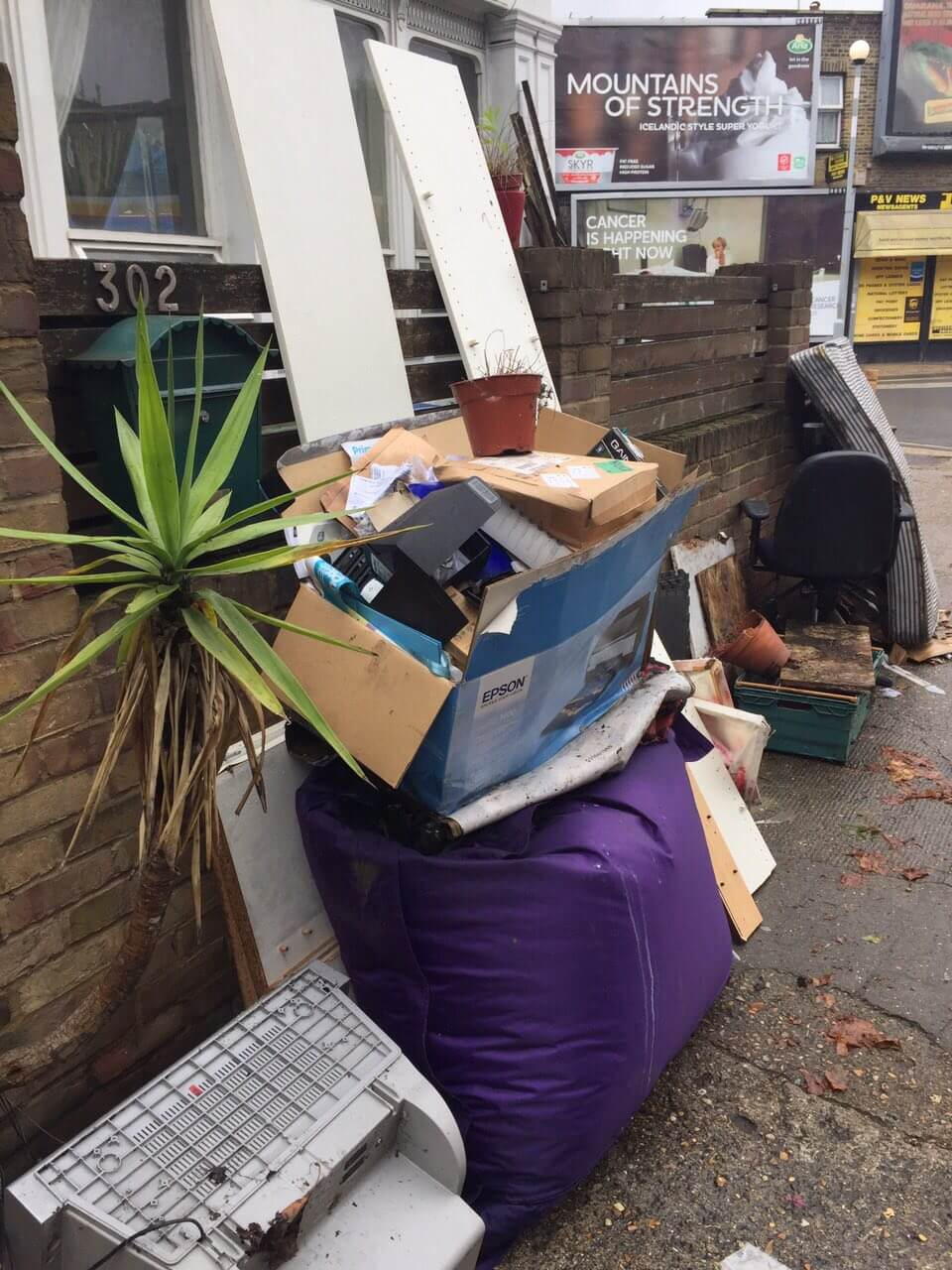 bulky waste collection SW5