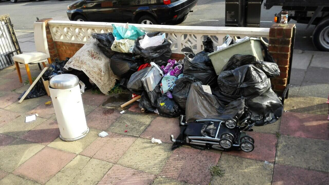 domestic rubbish pick up Surbiton