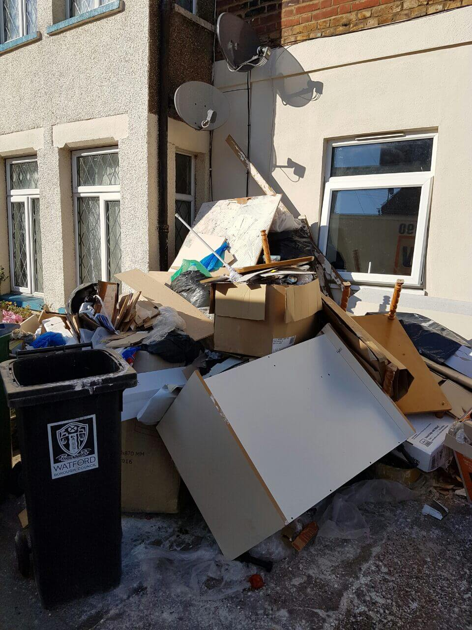 decluttering service NW3