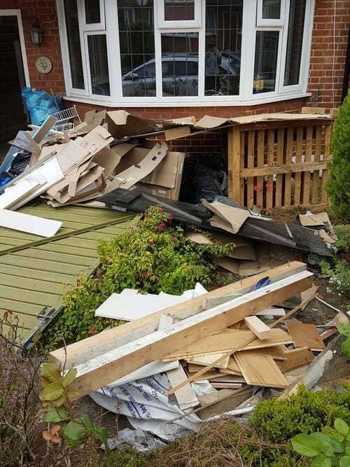 domestic rubbish pick up Wennington