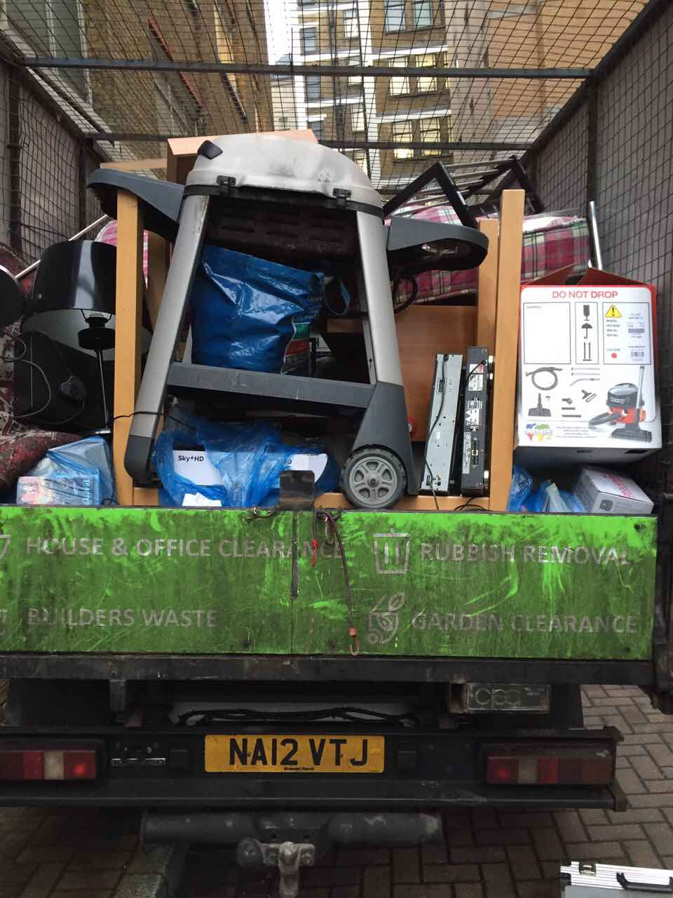 domestic rubbish pick up West Ealing